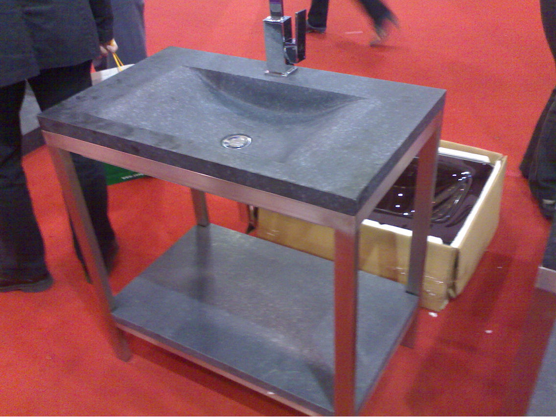 Marble Sink Display Stands-0715