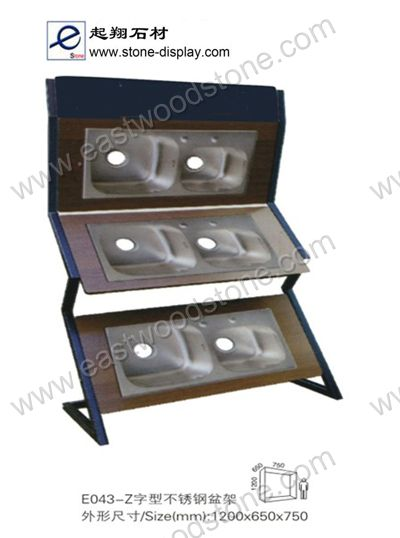 Stone sink displaystone display stone sink display rack 0704 sisterspd
