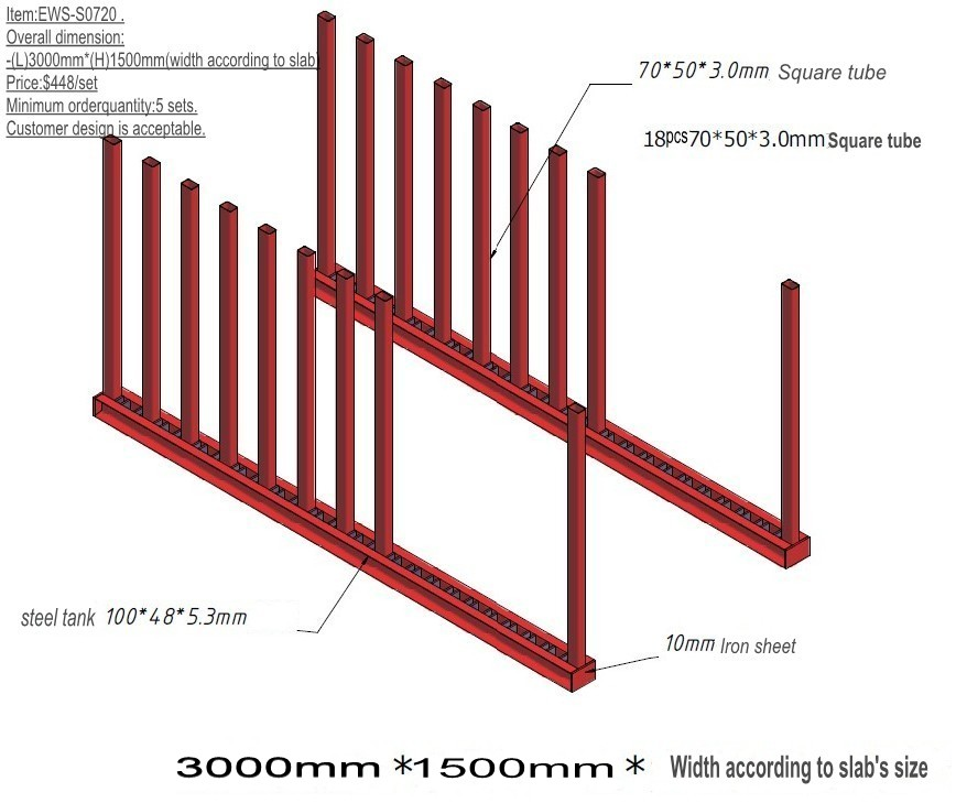 Slab Storage Rack-0903
